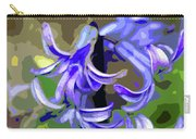 Hyacinth Digital Art Carry-all Pouch