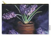 Hyacinths In A Pot Carry-all Pouch