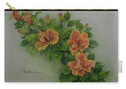 Hybrid Hibiscus Carry-all Pouch