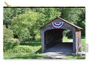 Hyde Hall Covered Bridge Carry-all Pouch