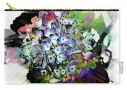 Hydrangea Abstract Carry-all Pouch