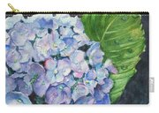Hydrangea And Water Droplet Carry-all Pouch