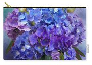 Hydrangea Bouquet - Square Carry-all Pouch