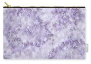 Hydrangea Digital In Lilac Carry-all Pouch