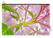Hydrangea Flower Inside Floral Art Prints Baslee Troutman Carry-all Pouch