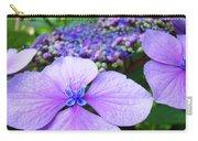 Hydrangea Flowers Art Prints Hydrangea Garden Giclee Art Prints Baslee Troutman Carry-all Pouch