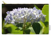 Hydrangea Four Carry-all Pouch