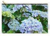 Hydrangea Garden Landscape Flower Art Prints Baslee Troutman Carry-all Pouch