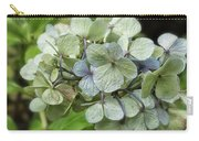 Hydrangea  In Purple And Pale Yellow Carry-all Pouch