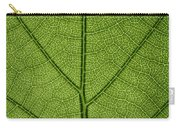 Hydrangea Leaf Carry-all Pouch