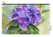 Hydrangea On Clayboard Carry-all Pouch