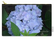 Hydrangea Three Carry-all Pouch