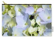 Hydrangea Two Carry-all Pouch