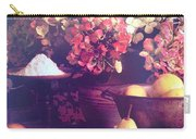 Hydrangeas And Pears Vignette Carry-all Pouch