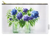 Hydrangeas At Vics  Carry-all Pouch
