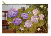 Hydrangeas On The Creek Bank Carry-all Pouch