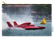 hydroplane racing boat on the Detroit river Carry-all Pouch