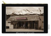 Hygiene Colorado Bw Fine Art Photography Print Carry-all Pouch
