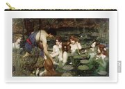 Hylas And The Nymphs John William Waterhouse Carry-all Pouch