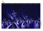 Hypnotique Blue Carry-all Pouch