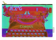 I Am Art Typewriter Carry-all Pouch
