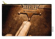 I Am The Law - Sepia Carry-all Pouch