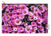 I Believe In Pink Daisies Carry-all Pouch