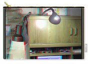 I C The Light - Use Red-cyan 3d Glasses Carry-all Pouch