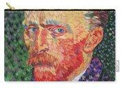 I Heart Van Gogh Portrait Of Vincent Carry-all Pouch