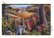 I Love Appalachia - Coon Gap Holler Country Farm Landscape 1 Carry-all Pouch