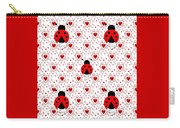 I Love Ladybugs Carry-all Pouch