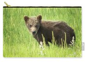 I Love Me A Teddy Bear Carry-all Pouch by Belinda Greb