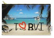 I Love The Bvi Carry-all Pouch