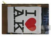 I Luv Alaska  Logo Carry-all Pouch