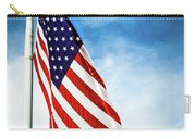 I Pledge Allegiance Carry-all Pouch by Shelby  Young