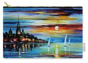 I Saw A Dream - Palette Knife Oil Painting On Canvas By Leonid Afremov Carry-all Pouch