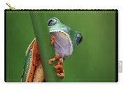 I See You - Tiger Leg Monkey Frog Carry-all Pouch