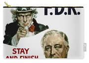 I Want You Fdr  Carry-all Pouch