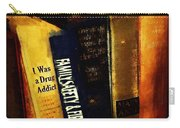 I Was A Drug Addict And Other Great Literature Carry-all Pouch