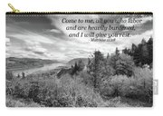 I Will Give You Rest Carry-all Pouch