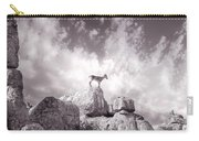Ibex -the Wild Mountain Goats In The El Torcal Mountains Spain Carry-all Pouch