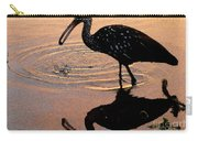 Ibis At Dusk Carry-all Pouch