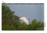 Ibis In The Oleander Carry-all Pouch