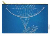 Icarus Airborn Patent Artwork Carry-all Pouch by Nikki Marie Smith