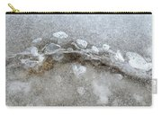 Ice And The Beach Four  Carry-all Pouch