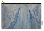 Ice Blue Angel Carry-all Pouch