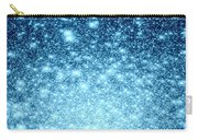 Ice Blue Galaxy Stars Carry-all Pouch