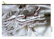 Ice Branches Carry-all Pouch