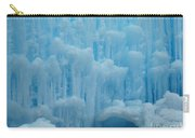 Ice Castles In Lincoln New Hampshire -2 Carry-all Pouch