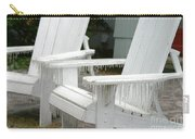 Ice-coated Chairs Carry-all Pouch